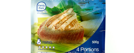 Retail Ready Pouches - SuperFresh Tuna Steaks
